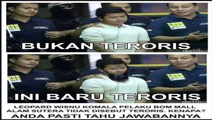 standar ganda terorisme