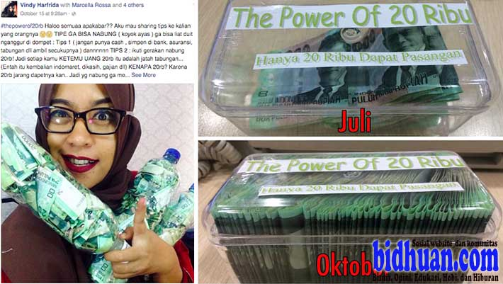 the power of 20 ribu