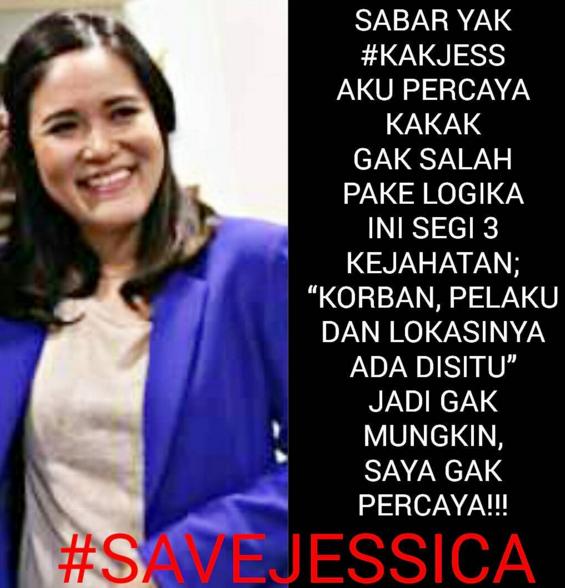 fachrurodjiGak logis jangan sampai ini jadi issue #POLRI menetapkan Tersangka pada Jessica hanya karena desakan pers dan atensi publik