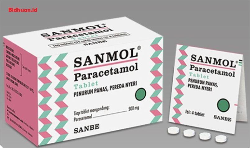 Obat Demam Untuk Orang Dewasa Dengan Acetaminophen atau Paracetamol