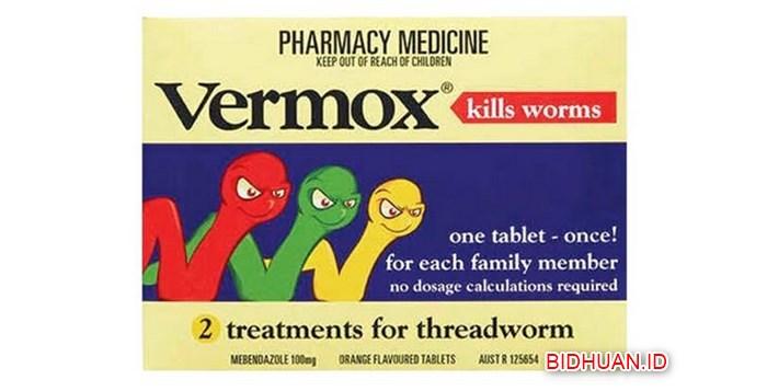 Obat Cacing Anak Vermox