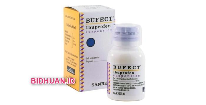 Obat Panas Anak dengan Bufect Ibuprofen Suspensi