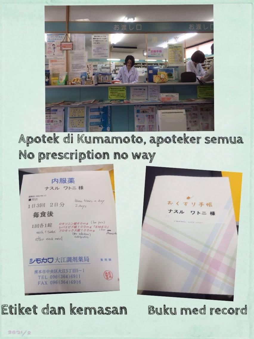 Kondisi Apotek di Jepang
