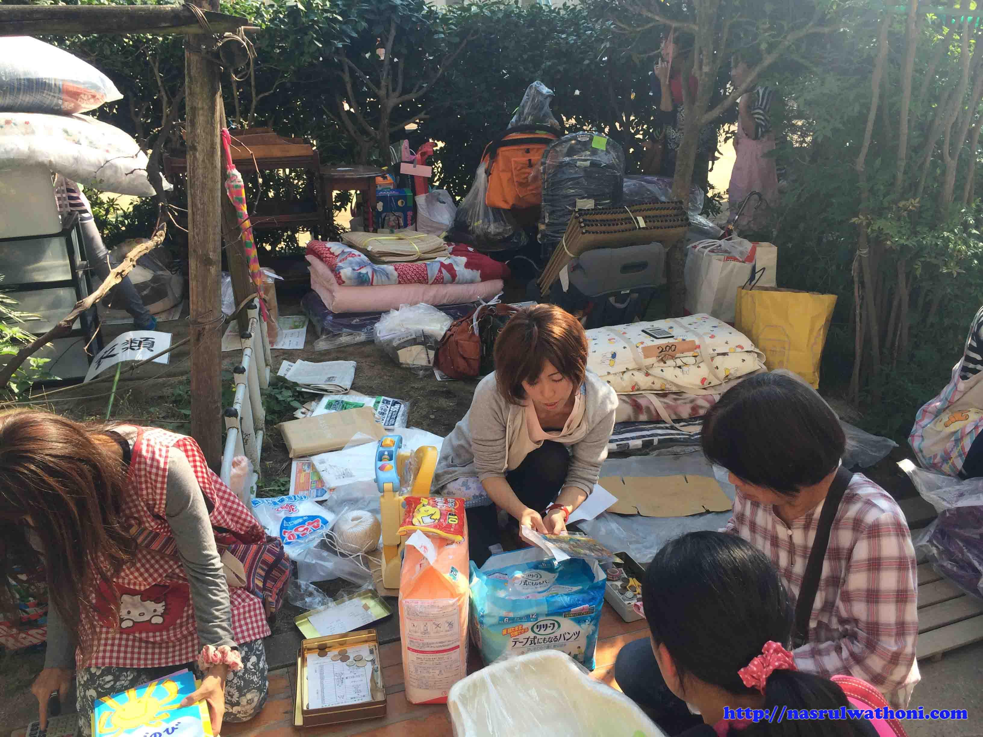 pasar kaget jepang