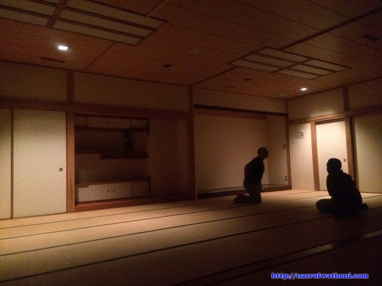 refraction in tatami room