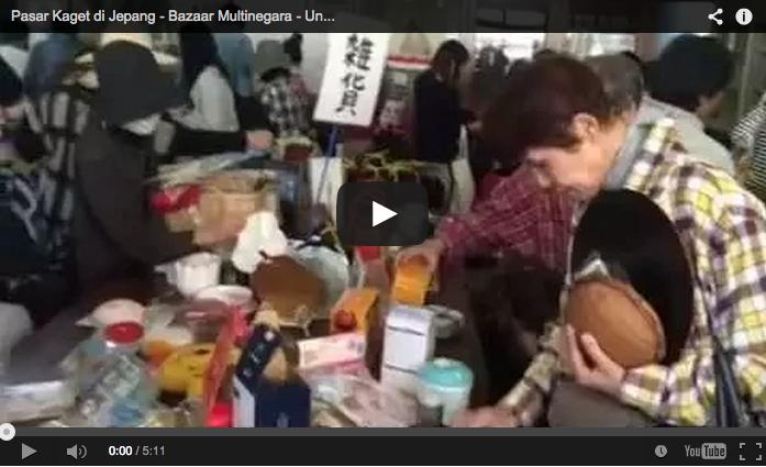 Siapa bilang di Jepang tidak ada PASAR KAGET