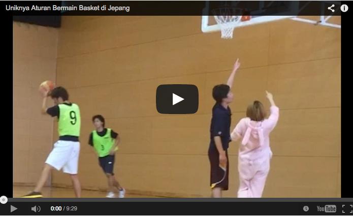 Uniknya Aturan Bermain Basket di Jepang