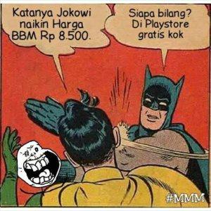 batman dan robin bbm
