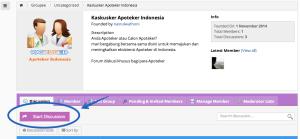 memulai diskusi di kaskusker apoteker indonesia