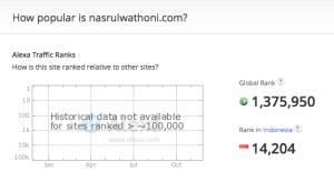 nasrulwathoni.com Site Overview