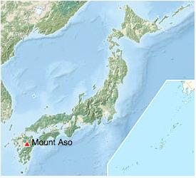 peta gunung aso