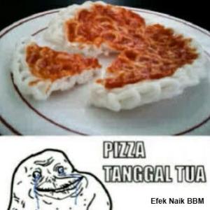 pizza tanggal tua