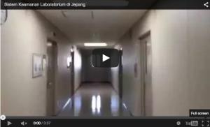 Video sistem keamanan gedung laboratorium