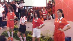 persija launching kostum