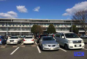 tempat parkir ujian sim