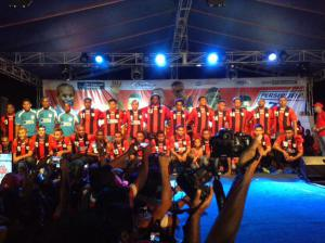 Launching tim persipura 2015