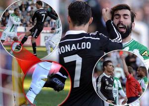 Kartu MErah Ronaldo