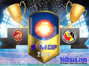 sriwijaya vs semen padang scm cup 2015