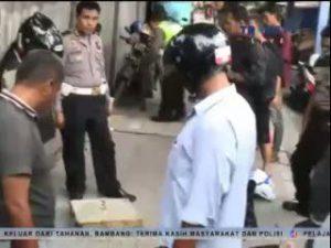@SungminSJ_WKP Tolak Ditilang, Pemotor Bacok Polisi,