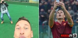 Totti selfie