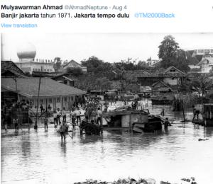 banjir tempo dulu