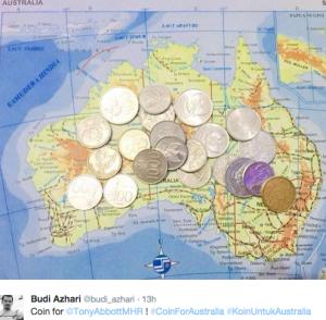koin untuk australia