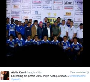 Persib Launching skuad 2015