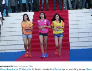launching jersey arema