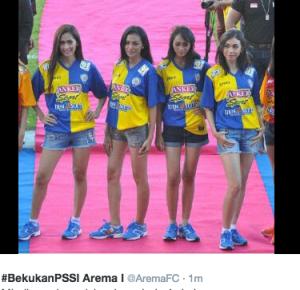 jersey baru arema isl 2015