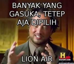 kumpulan meme lion air terbaru