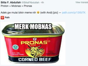 meme mobnas dan proton
