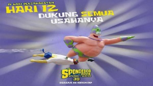 sponge bob 3D maret