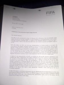 surat resmi fifa