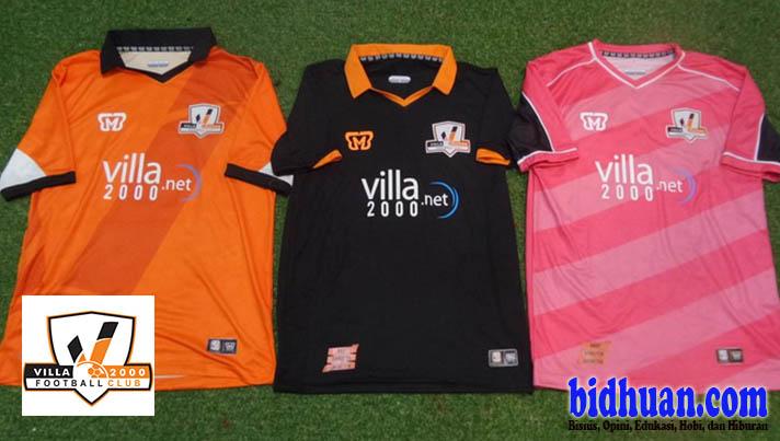 jersey villa 2000 untuk divisi utama 2015