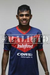 23) Yabes Roni M (WG) | TTL:Moramam, 6 Februari 1995 | Tinggi/Berat: 163 Cm/62 Kg | Klub Sebelumnya: Eks Timnas U-19