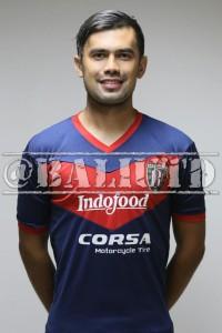 (18) Amadeus Suropati (AM) | TTL:Denpasar, 31 Desember 1985 | Tinggi/Berat: 186 Cm/78 Kg | Klub Sebelumnya: Borneo FC