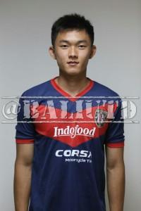 (17) Sutanto Tan (AM) | TTL: Pekanbaru, 4 Mei 1994   | Tinggi/Berat:  179 Cm /70 Kg | Klub Sebelumnya: Hougang United