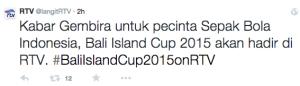 siaran langsung bali island cup