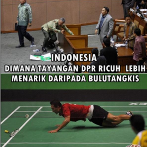 meme badminton