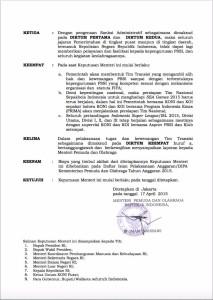 Inilah Penampakan Surat Keputusan Menpora tentang Bekukan PSSI