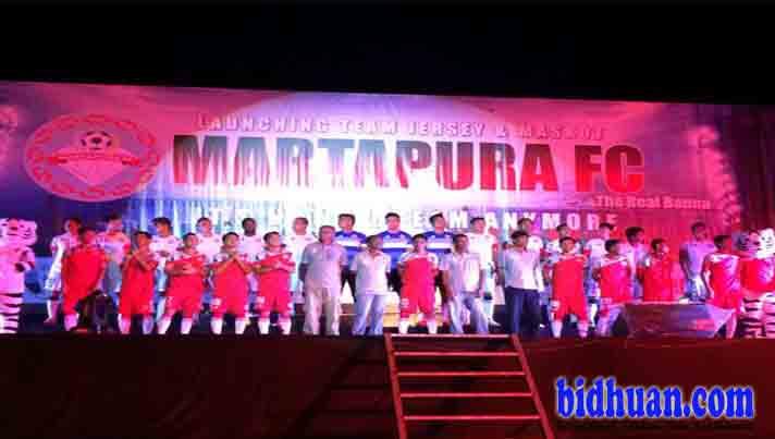 martapura fc launching