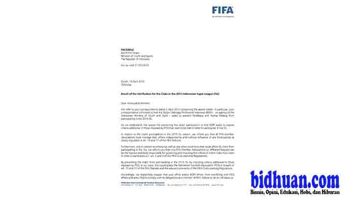 surat balasan fifa3