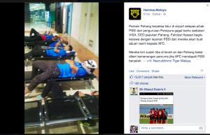 Pahang FA tidur di bandara