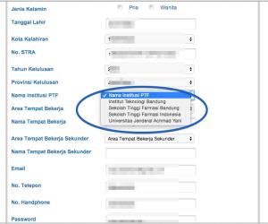 cara daftar CPD online