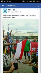 foto  bakar bendera