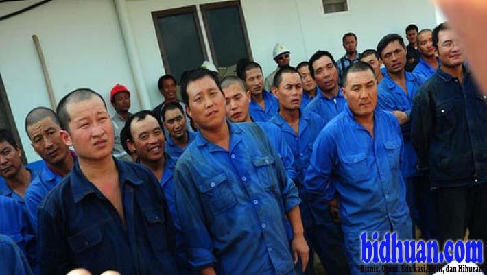 pekerja china