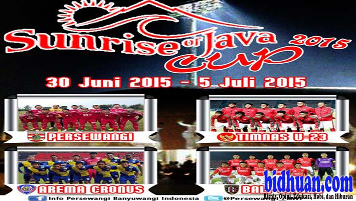 sunrise of java cup