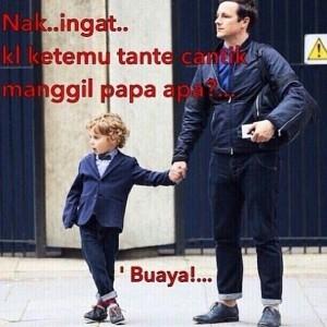 meme papa mama modus