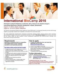 biocamp 2015 novartis