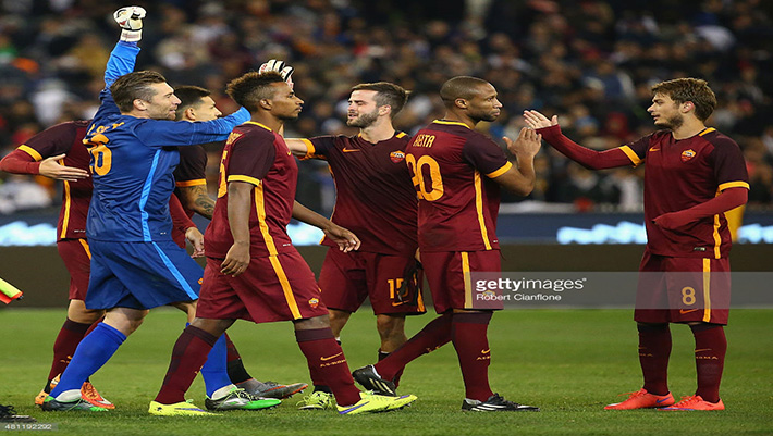 as roma real madrid